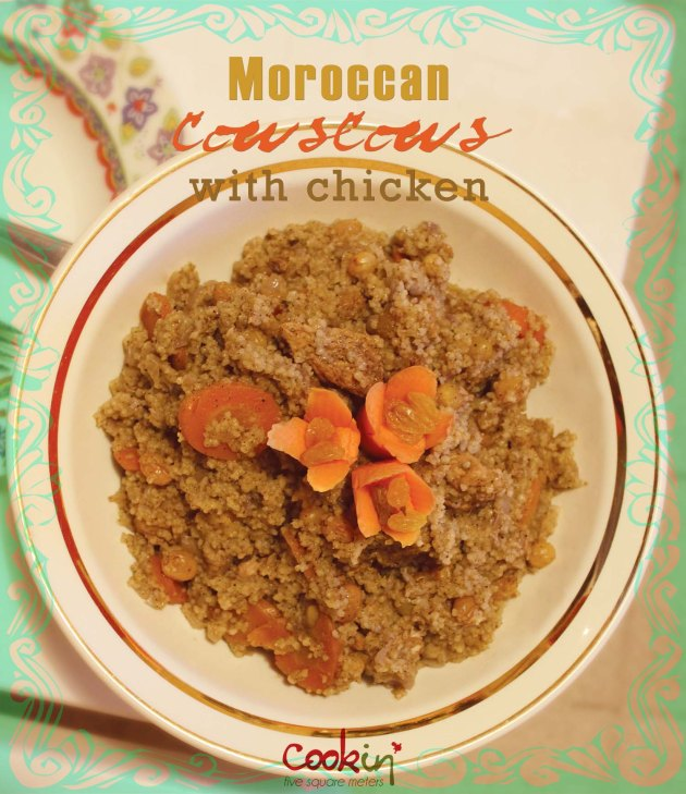 Moroccan Couscous with Chicken