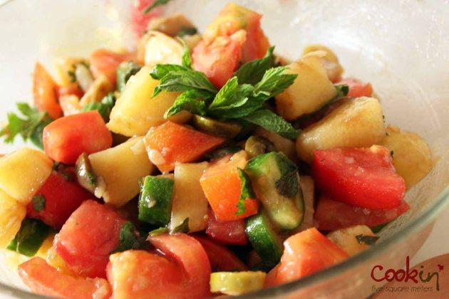 Potato Salad and Tuna Salad Boats 02