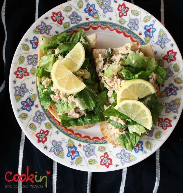 Potato Salad and Tuna Salad Boats 03