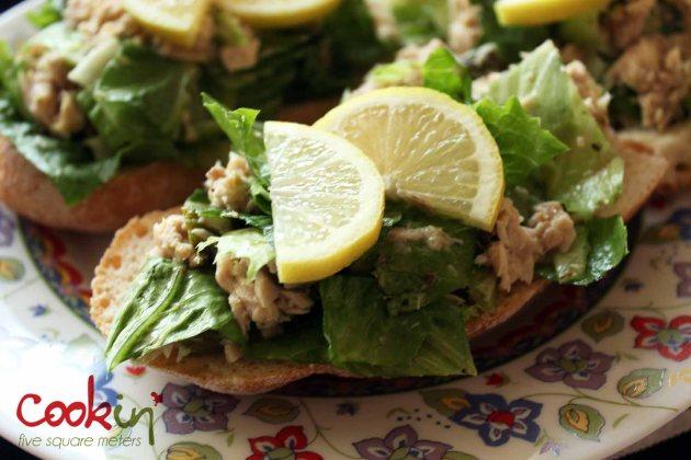 Potato Salad and Tuna Salad Boats 04