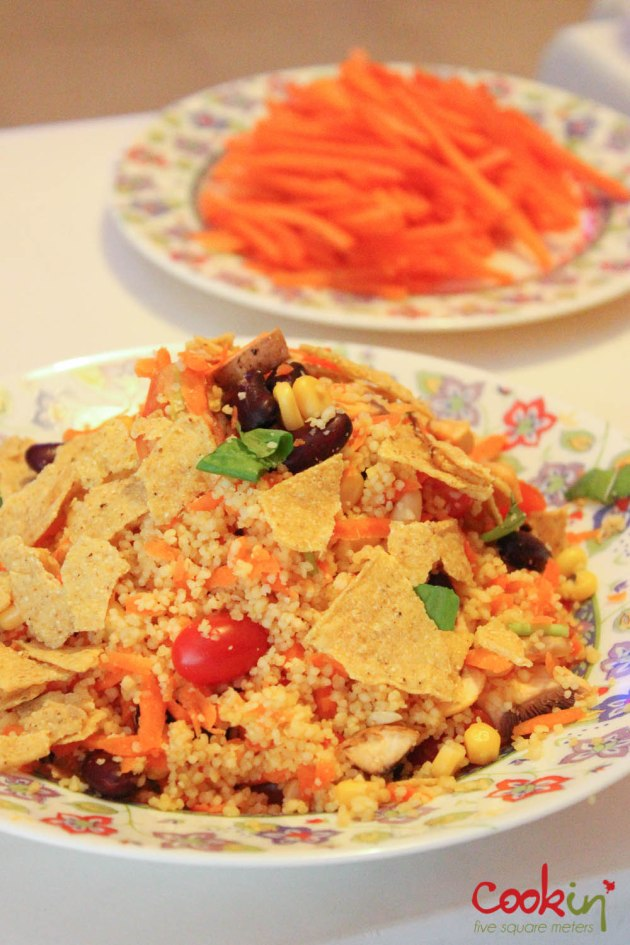 Mexican inspired couscous salad-1008