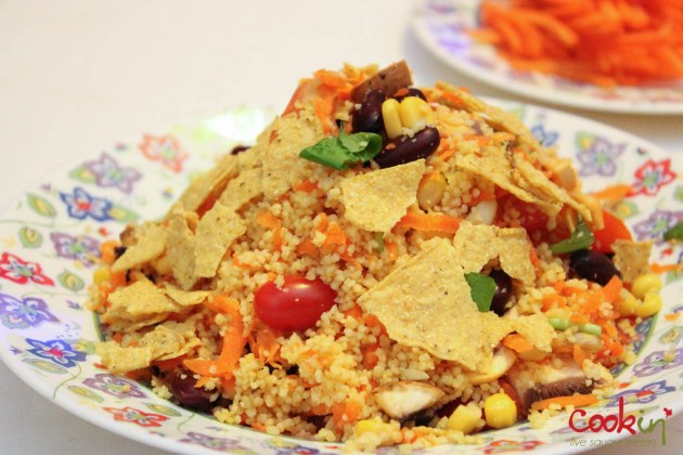 Mexican inspired couscous salad-1011