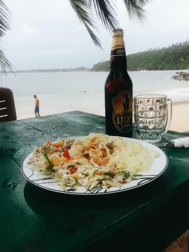 Grilled Calamari & more beer