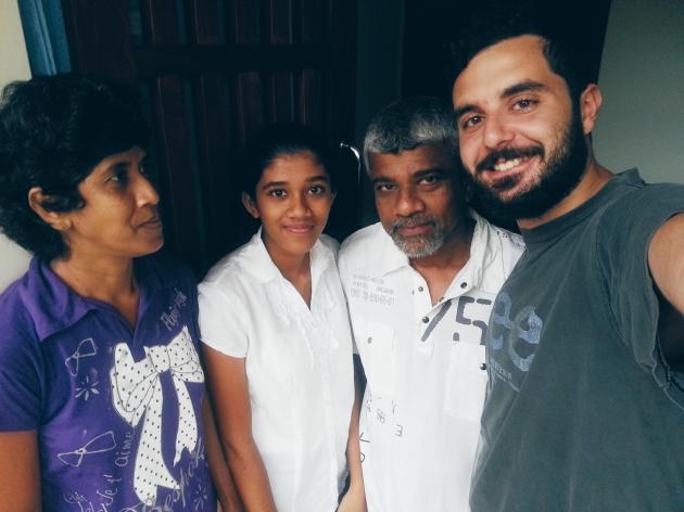 Piyal and his sweet family from Villa Orenka