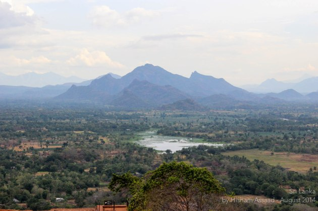 The view from above - Sigiriya
