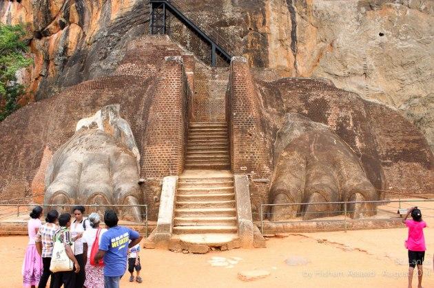 The Lion Gate - Sigiriya