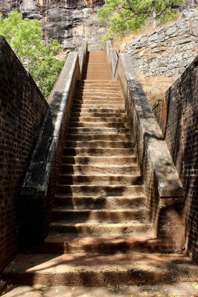 Endless stairs - Sigiriya