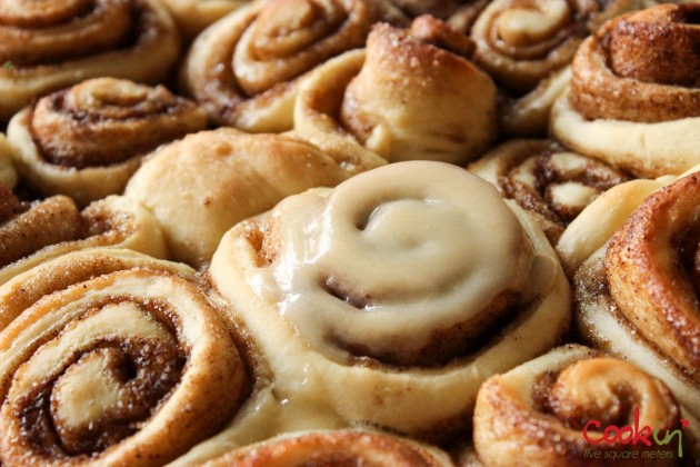 Cinnamon Rolls Recipe - Cookin5m2-4