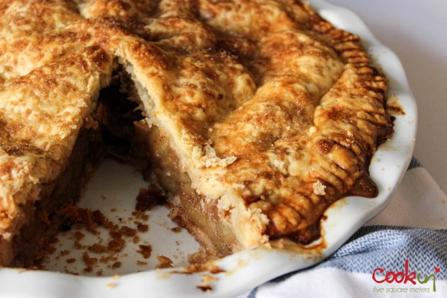 Classical Apple Pie recipe - Cookin5m2-15