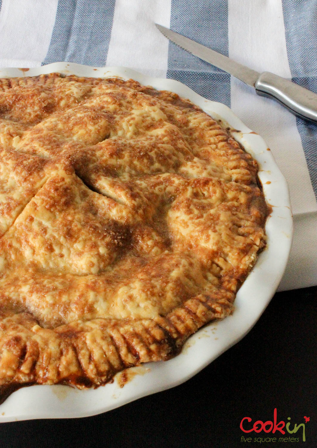Classic apple pie a new member cook in five square meters - Apple pie recipes ...
