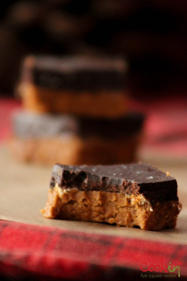 Peanut Butter and Chocolate Fudge Recipe - Cookin5m2-5