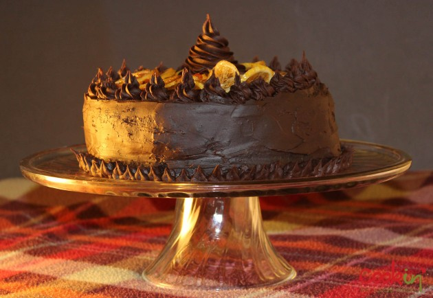 My 27th Birthday Chocolate Orange Cake with Candied Citrus Recipe - Cookin5m2-3