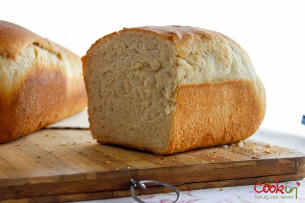 Sandwich Bread Recipe - Cookin5m2-1