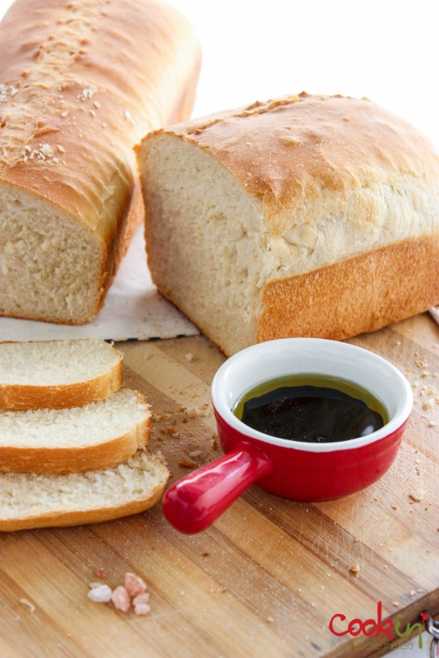 Sandwich Bread Recipe - Cookin5m2-2