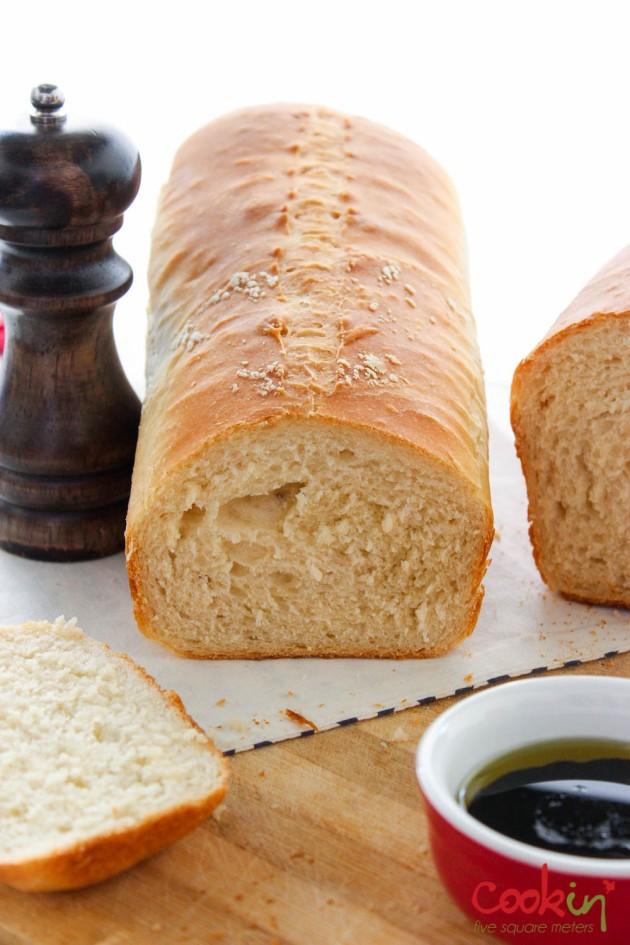 Sandwich Bread Recipe - Cookin5m2-3