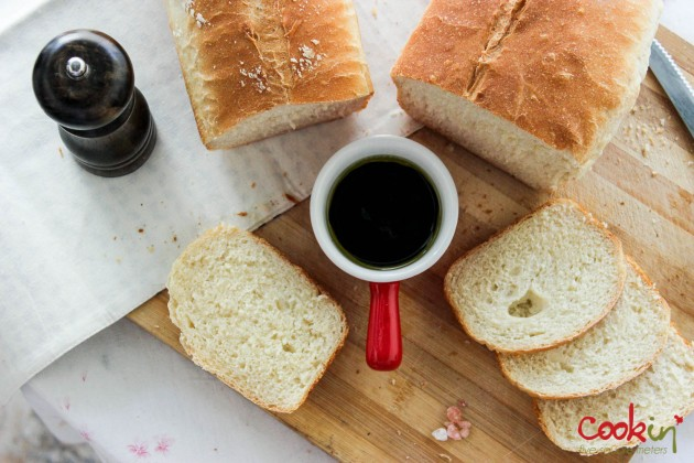 Sandwich Bread Recipe - Cookin5m2-4