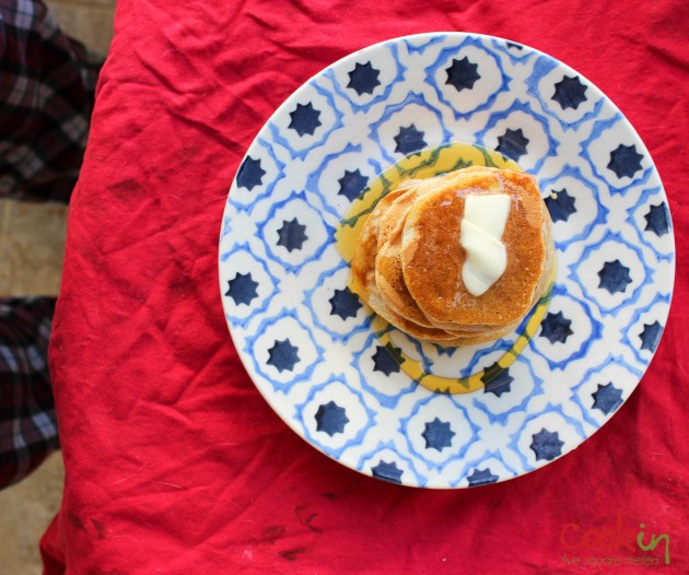 Apple Butter Bourbon Pancakes Recipe - Cookin5m2-1