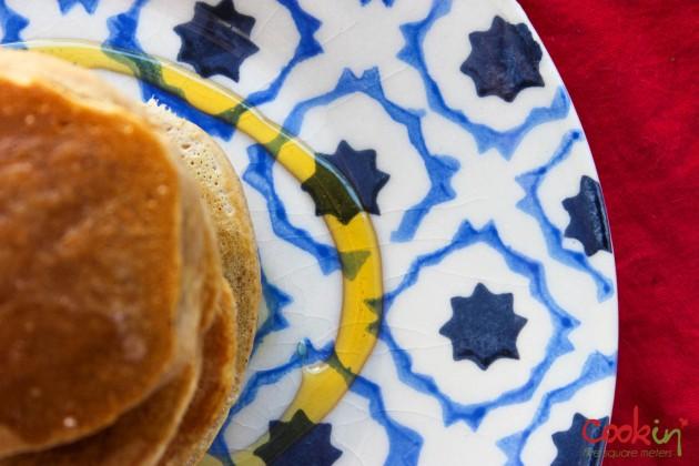Apple Butter Bourbon Pancakes Recipe - Cookin5m2-5