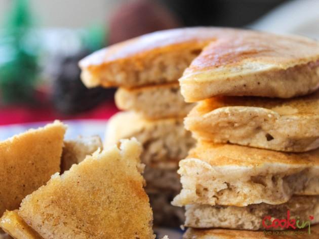 Apple Butter Bourbon Pancakes Recipe - Cookin5m2-6