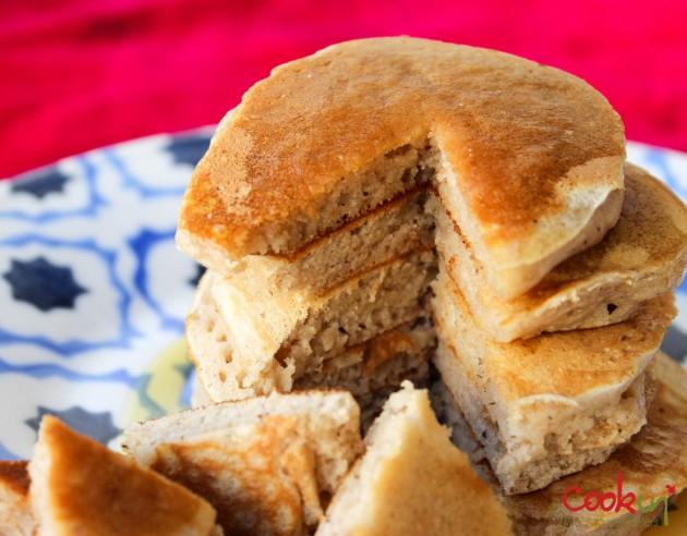 Apple Butter Bourbon Pancakes Recipe - Cookin5m2-7