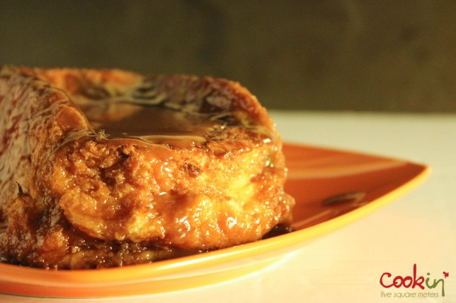 Pan-fried Halloumi and Mushrooms, and Gigantic Pain Perdu Copycat Recipes From The Hangout with serVme - Cookin5m2-14
