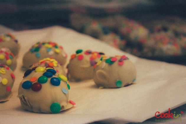 Grown-up Bourbon Easter Egg Cookie Truffles Recipe  - Cookin5m2-1