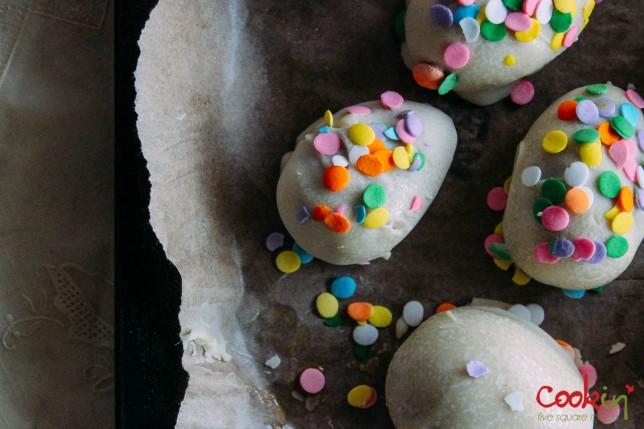 Grown-up Bourbon Easter Egg Cookie Truffles Recipe  - Cookin5m2-4