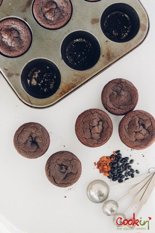 Fudgy Black Bean Brownie Bites recipe - Cookin5m2-2