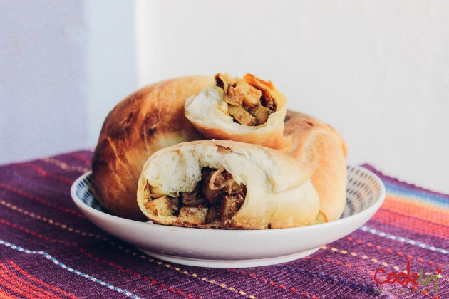Street food Potato semi samosas recipe - Cookin5m2-5