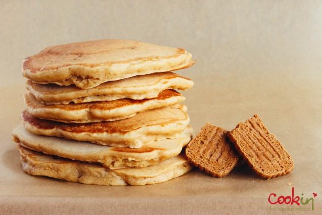 Caramel biscuit spoculoos lotus biscoff pancakes recipe - cookin5m2-2