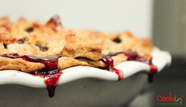 Blog - Plum and Apple Pie recipe - cookin5m2-5