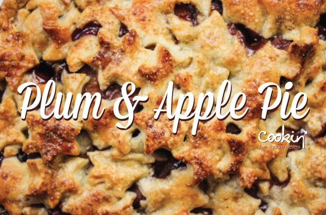 Plum & apple pie pic-01