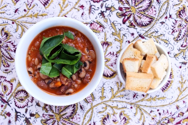Vegan quinoa minestrone soup - cookin5m2 - 1