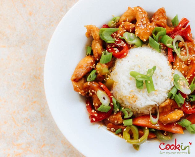 Asian Blood Orange Chicken recipe - cookin5m2-1