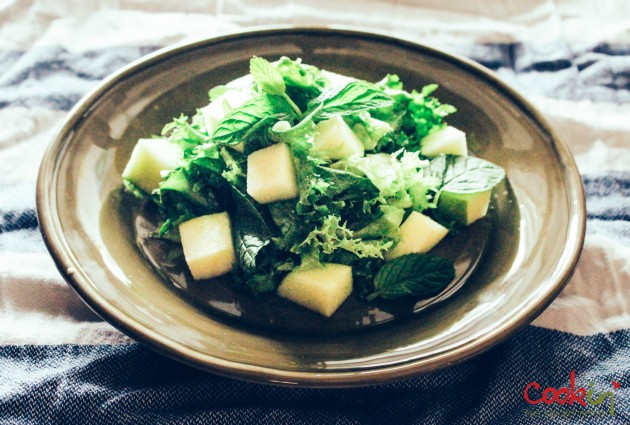 Chicory Salad with ginger & apples recipe - cookin5m2-1