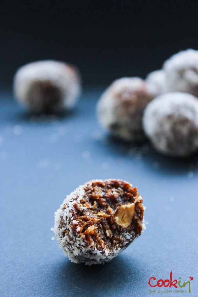 Dates & Nuts power energy balls recipe - cookin5m2-8