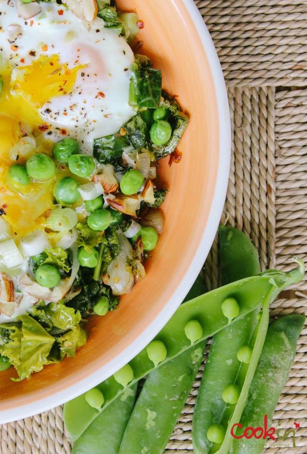 Green shakshouka asparagus kale recipe - cookin5m2-1
