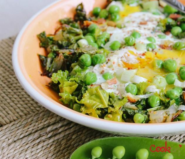 Green shakshouka asparagus kale recipe - cookin5m2-2