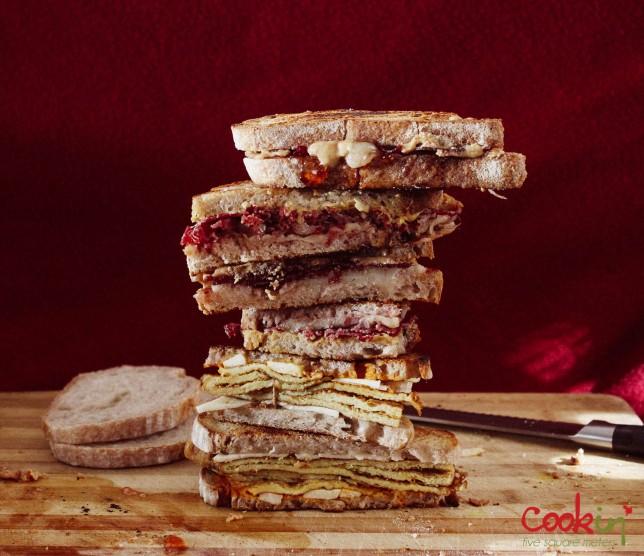 Soudough bread bresaola cheese sandwiches recipe - cookin5m2-7