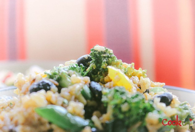 Black Bean Broccoli fried rice recipe - cookin5m2 -6