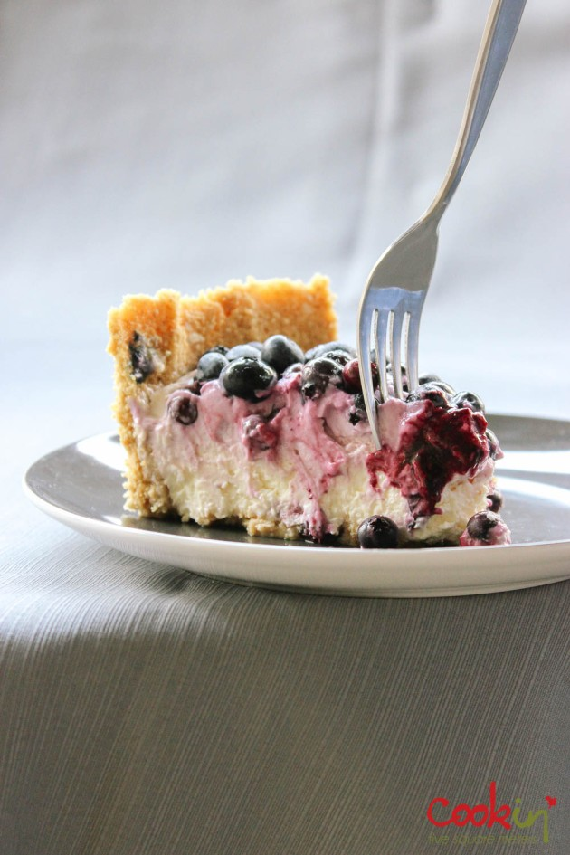 Blueberry Swirl Labneh Cheesecake recipe - cookin5m2 -18