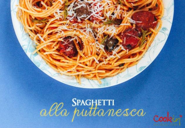 Spaghetti alla Puttanesca, Prostitute's Spaghetti recipe - cookin5m2 -PIN.jpg