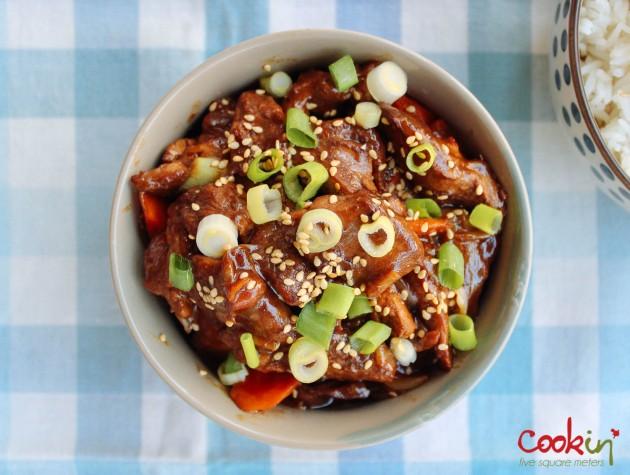 Asian Duck Stir-fry recipe - cookin5m2-6