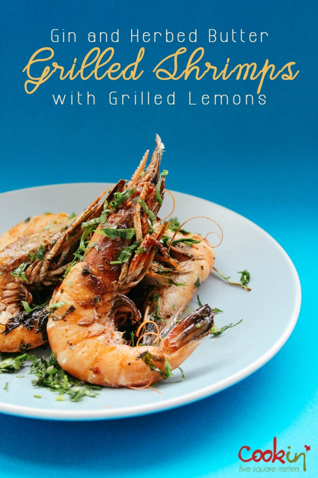 gin-and-herbed-butter-grilled-shrimps-with-grilled-lemons-recipe-cookin5m2-pin