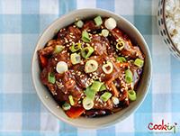 TINY-Asian Duck Stir-fry recipe - cookin5m2-6