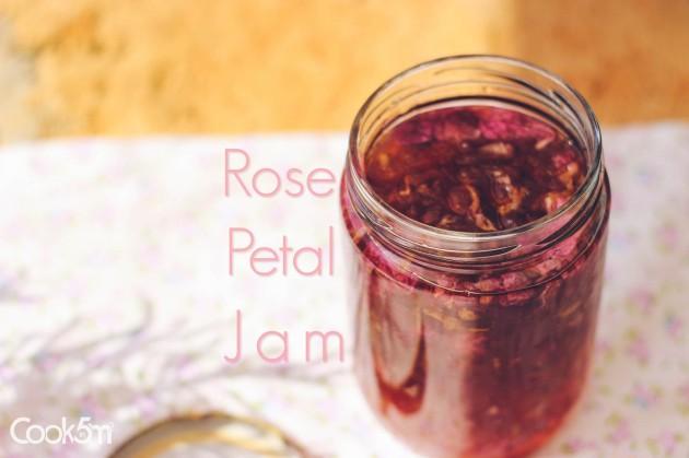 Rose Petal Jam Cook In Five Square Meters