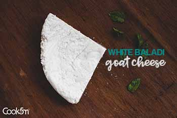 TINY-Fresh White Baladi Goat Cheese recipe - cookin5m2 -1770