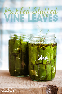 TINY-Pickles Stuffed Grape Leaves Recipe - cookin5m2 -1442