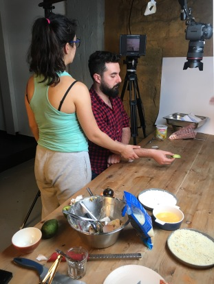 Hisham Assaad Filming Video - cookin5m2 1