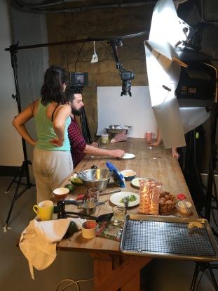 Hisham Assaad Filming Video - cookin5m2 2
